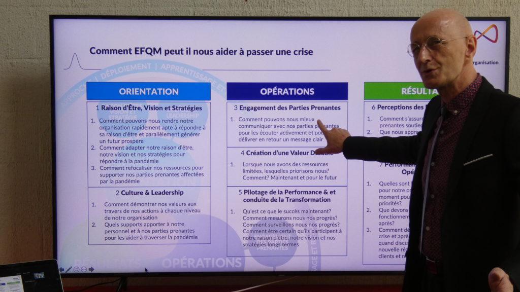 Le management de crise comme Covid 19 avec le modèle EFQM